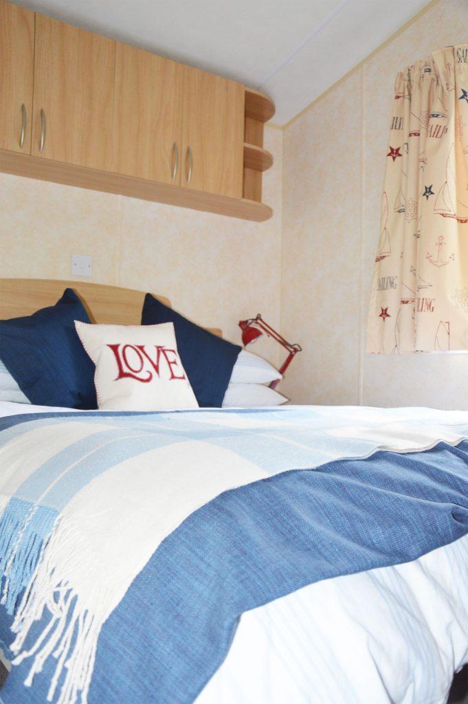 Static Caravan Double Bedroom