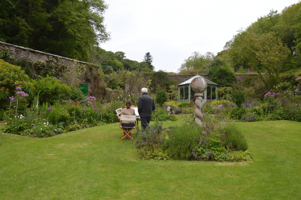 Hartland Abbey Gardens 3